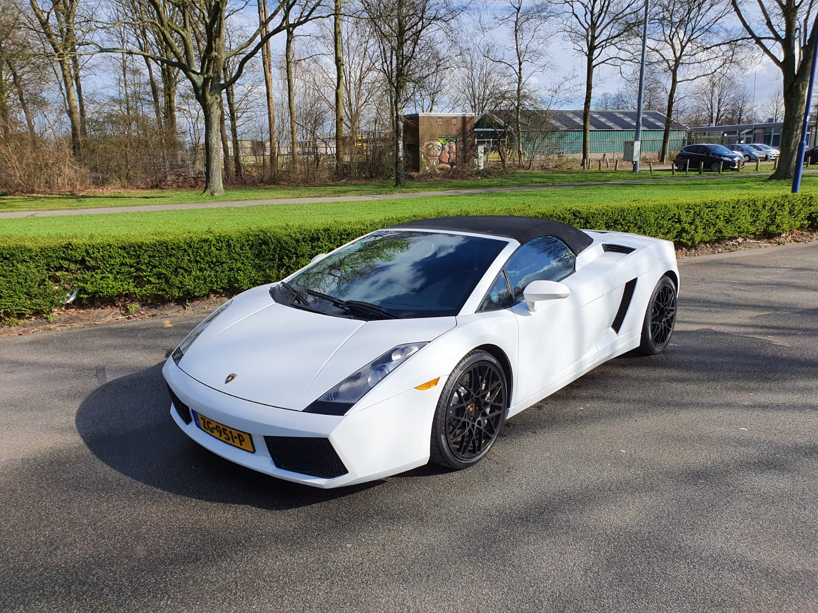Lamborghini Gallardo voorkant