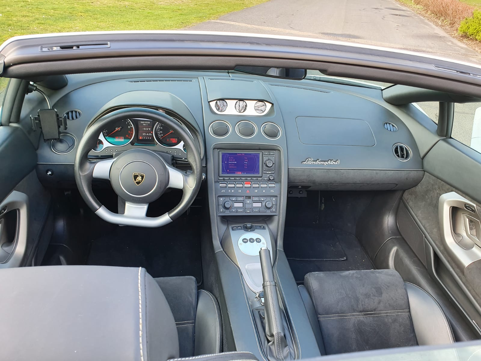 Lamborghini Gallardo Interieur